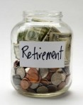 Retirement jar - full
