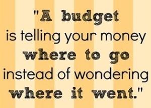 Budget quote  crop