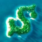 Dollar island crop