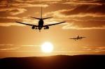 Airplane, departure, leaving